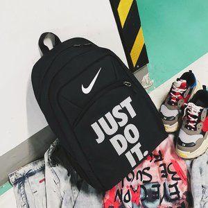 nike big black backpack
